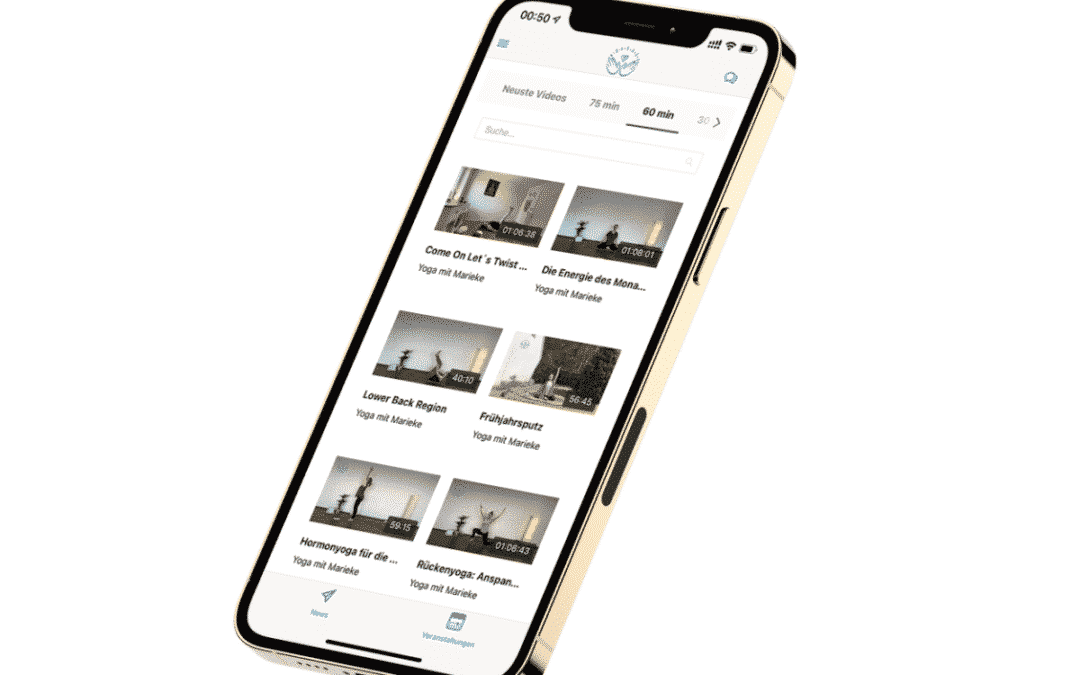 Marieke Börger – Yoga App